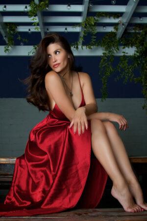 Red Dress 8×10